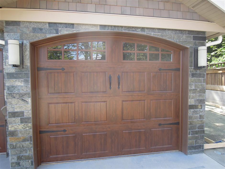 Gallery collection harbour door for Clopay steel garage doors