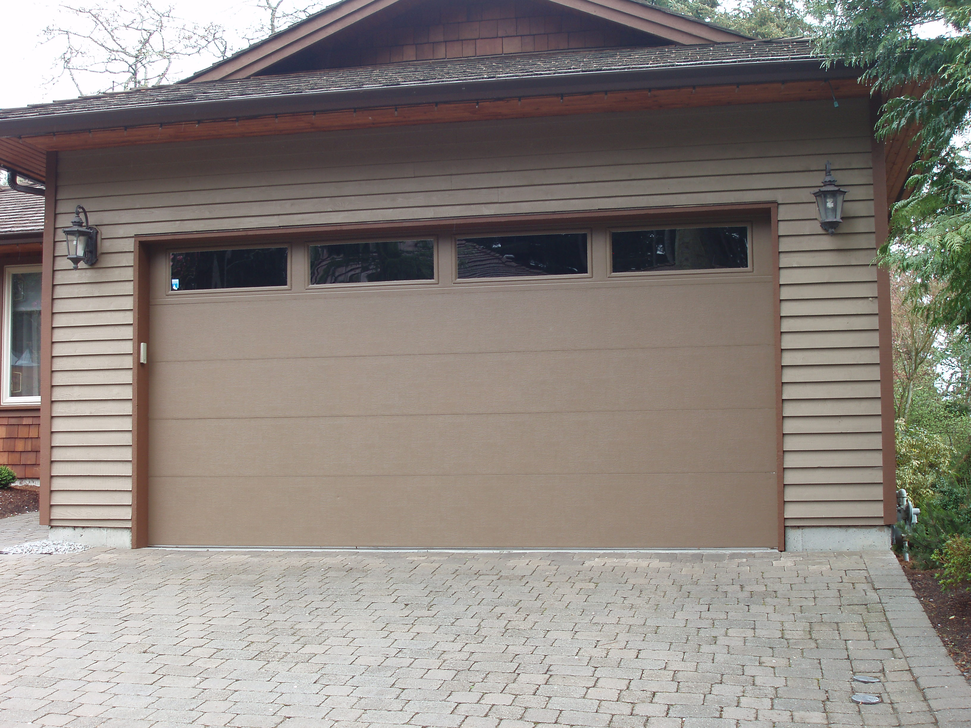 Clopay insulated garage doors examples ideas pictures Clopay garage door colors