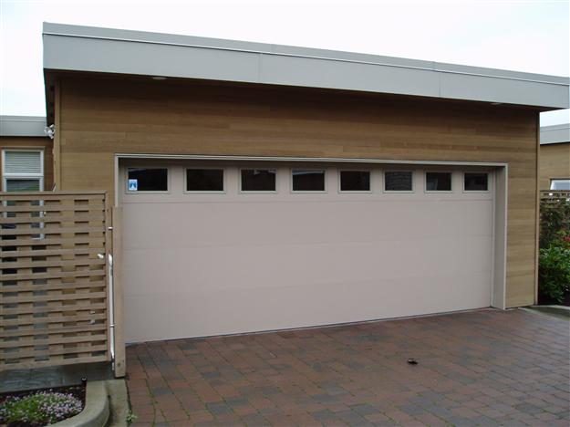 Premium steel insulated collection harbour door for Garage door repair tampa