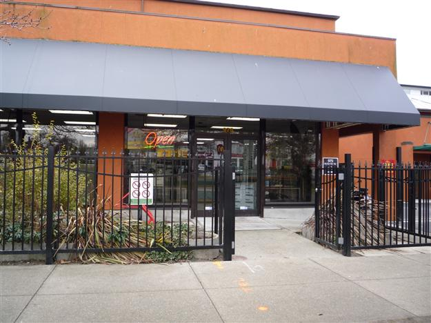 FS 03 - Commercial custom security fence with matching pedestrian gates