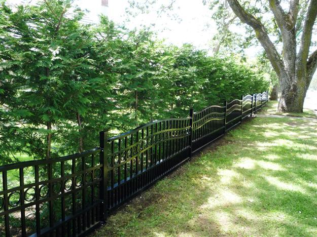 FS01 Custom Residential Perimeter Fencing