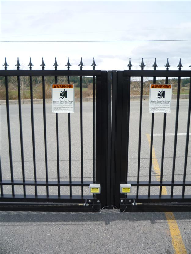 GC 39 - Safety Miller Edges for Bi-parting sliding gate