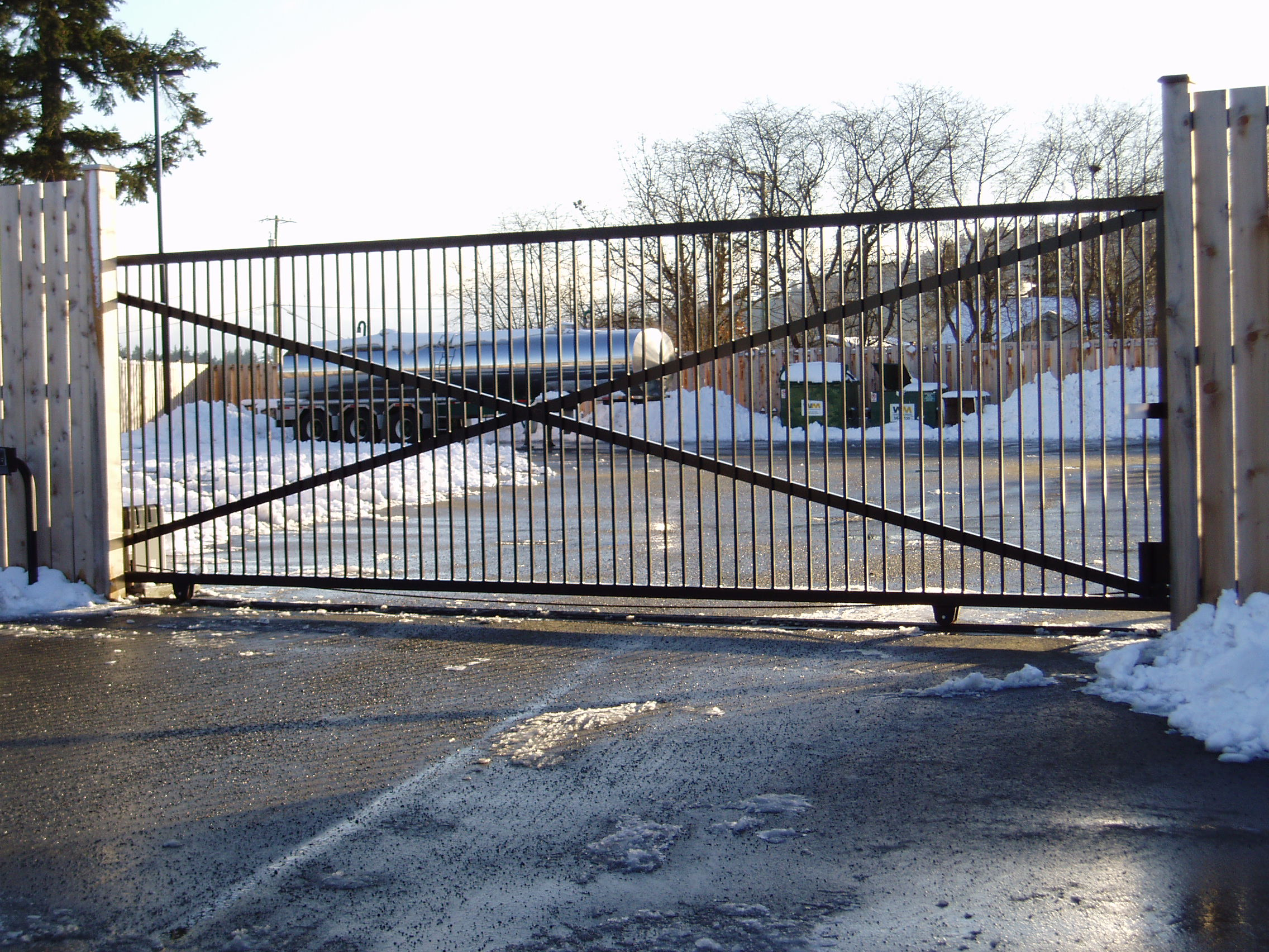 Commercial Sliding Amp Cantilever Gates Harbour Door