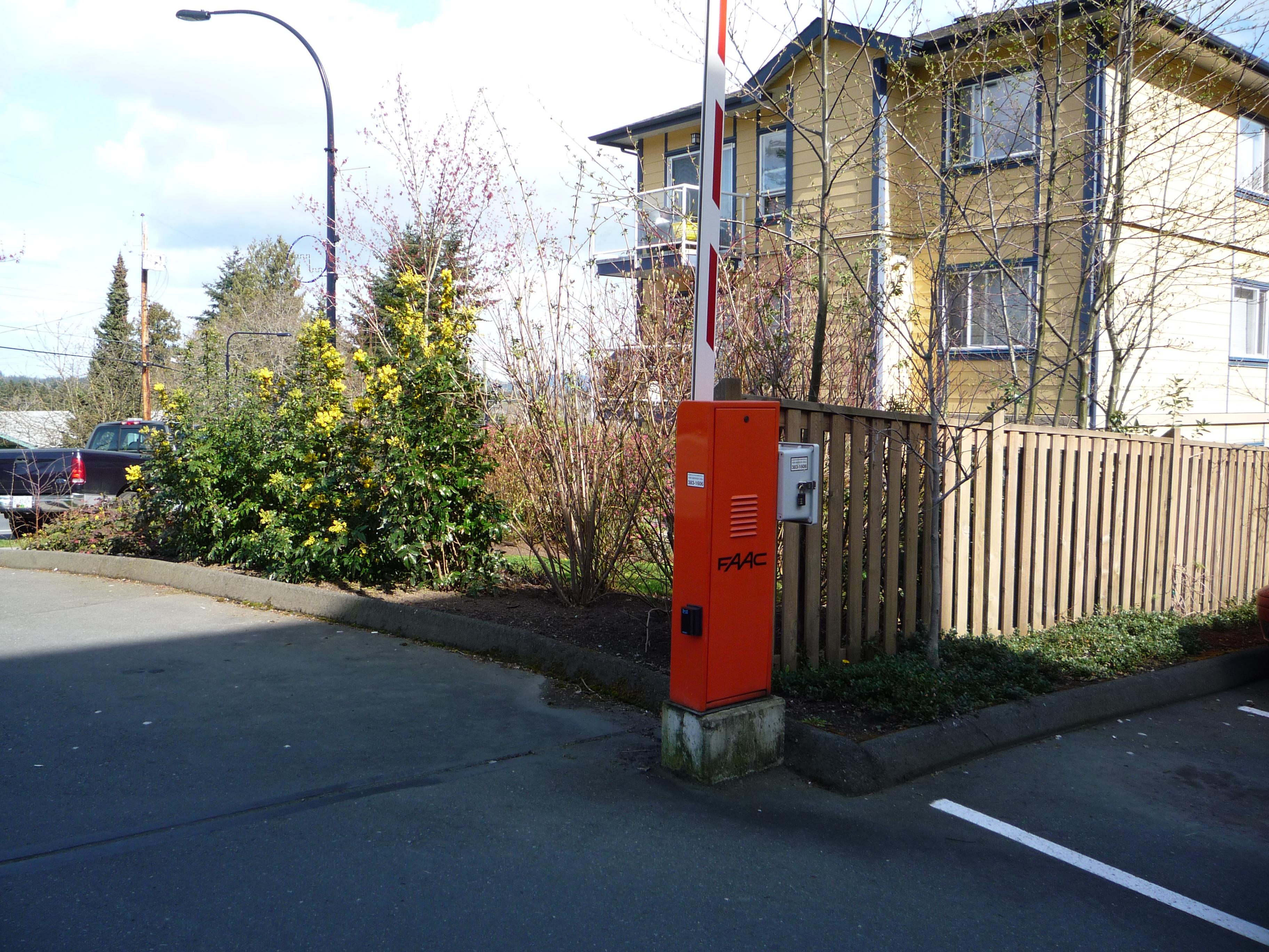 Barrier Arms Amp Bollards Harbour Door