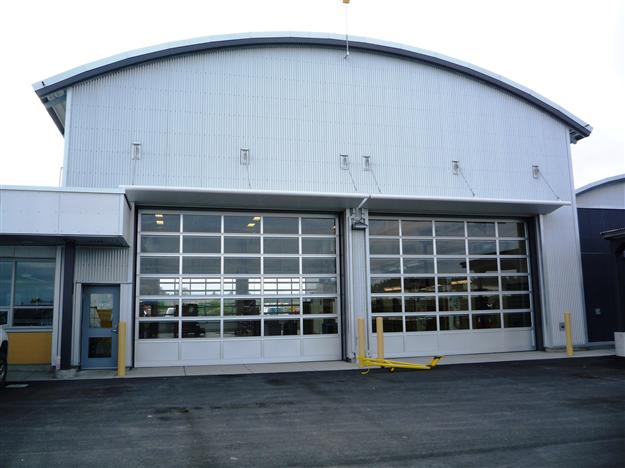 CD09-Commercial full view aluminum door for large airport application