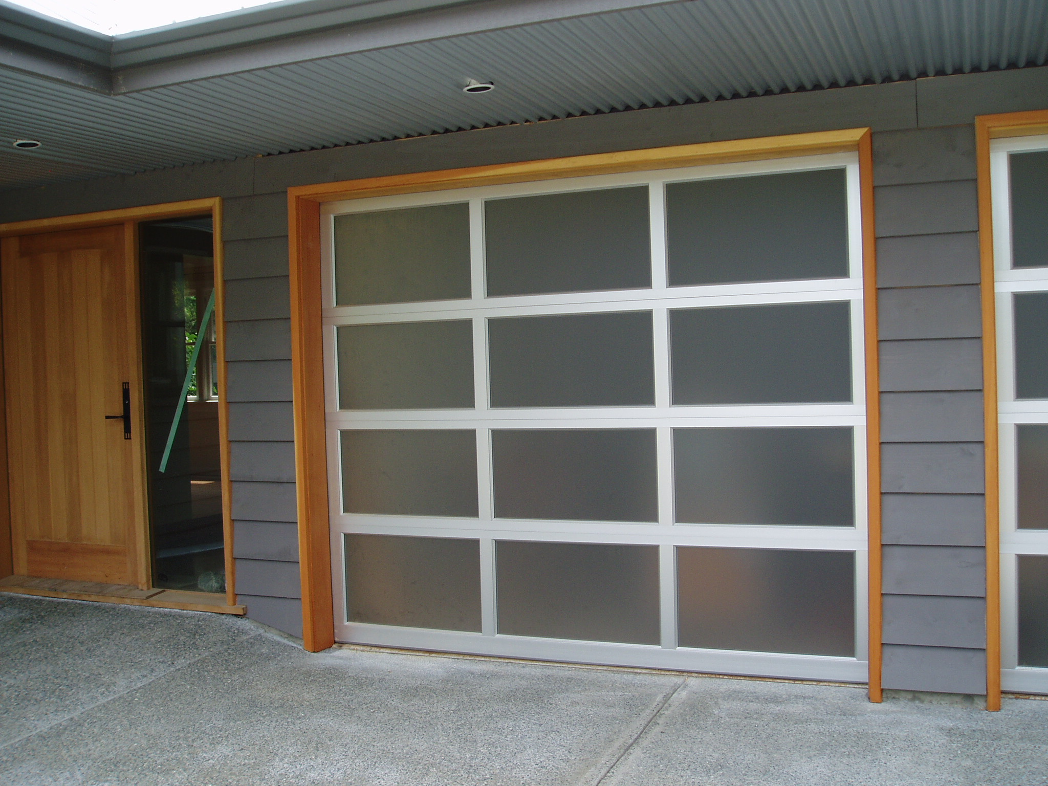 doors aluminum modern garage sweethaus b t restaurant glass door