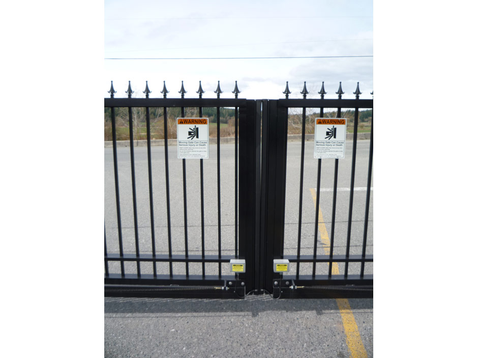 GC25 Safety Miller Edges for Bi-Parting Sliding Gate