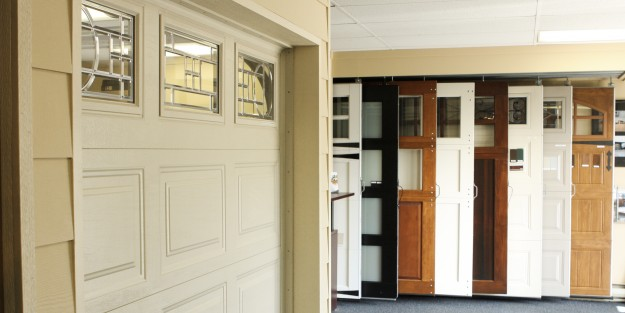 Showroom Residential Door Display - Full Size Doors