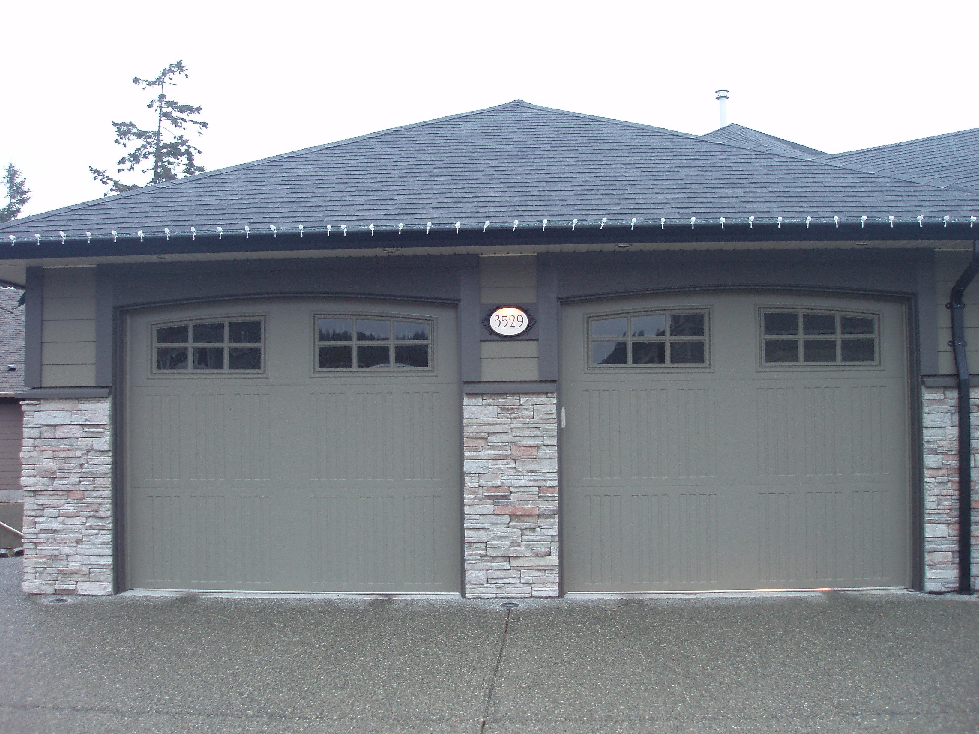 Premium steel harbour door for Therma door garage insulation