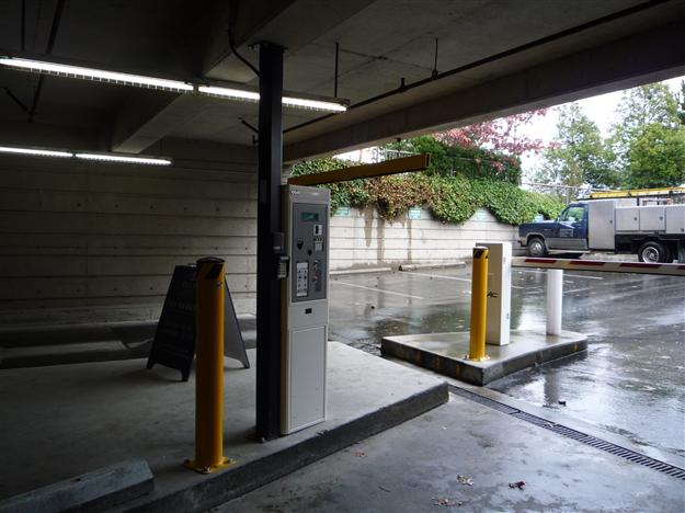 SP05- Protective bollards for Pay Station and barrier arm