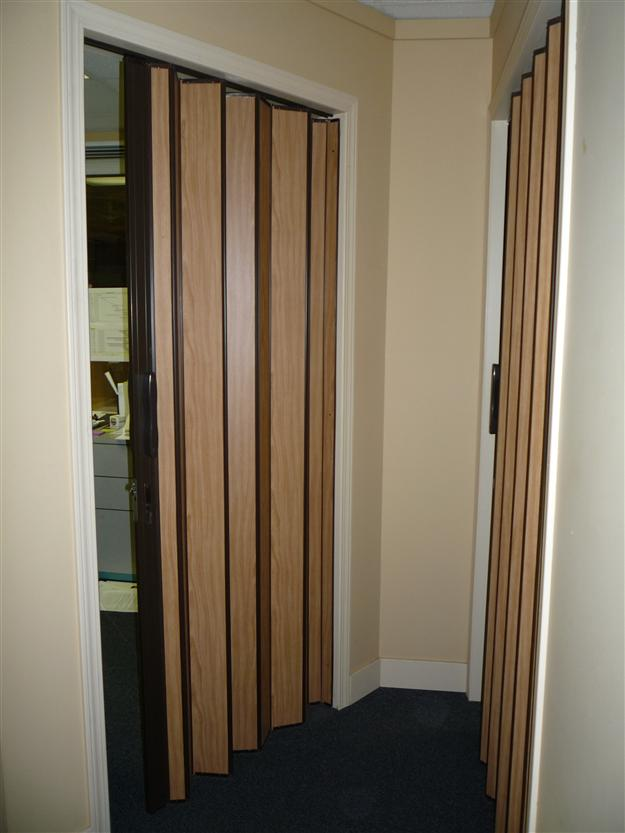 SP12- Interior Woodfold sliding accordion door (Custom) & Accordion Doors - Harbour Door