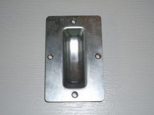 SP17- Sliding barn door flush pull