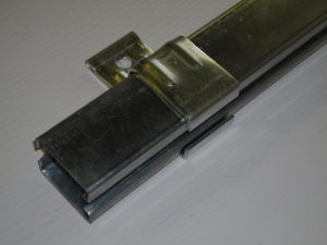 SP19- Sliding barn door track and bracket