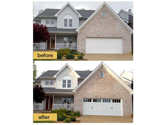 add windows to garage door