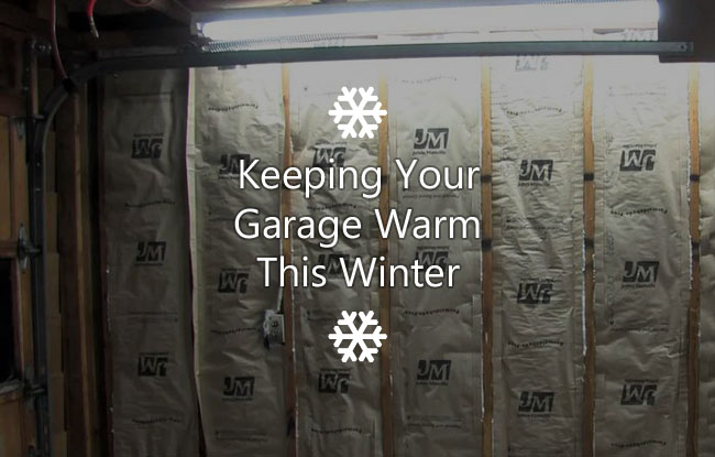 keeping garage warm